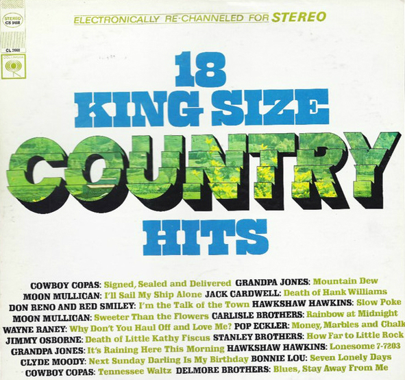 King Size County Hits - Seymour Stein LP-a