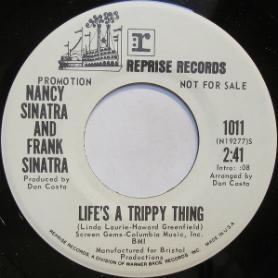 Nancy & Frank Sinatra 45-aa