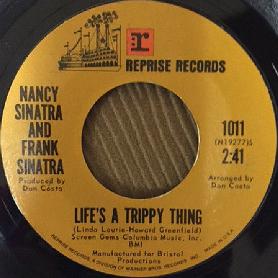 Nancy & Frank Sinatra 45-bb