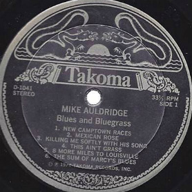 Track Recorders - Mike Auldridge LP