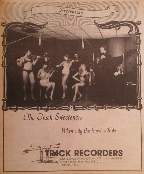 Track Sweetening Ad - 1980