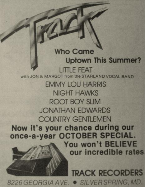 Track ad - 1977
