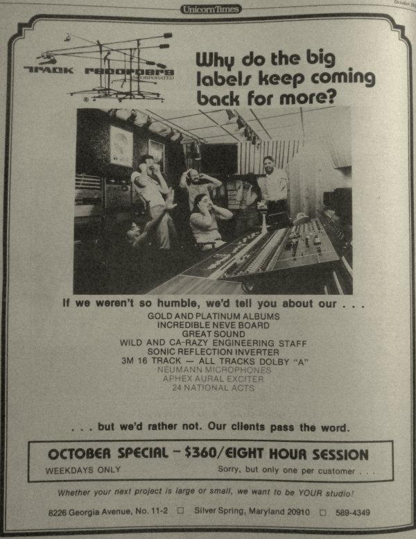 Track ad - 1978