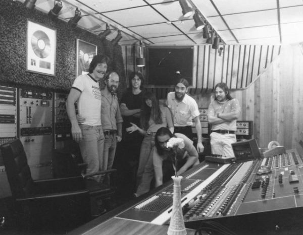 Track Recorders - Gerry - Les - Doug - Kate - Slim - Bill - Mark