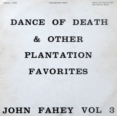 John Fahey - Dance of Death LP