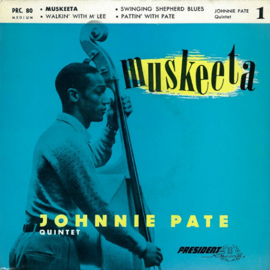 Johnnie Pate - Muskeeta - French EP