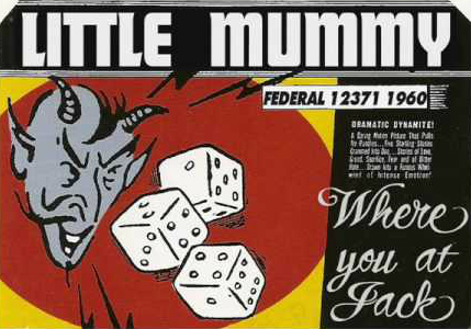 Little Mummy picture sleeve