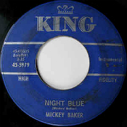 Mickey Baker King 45-cc