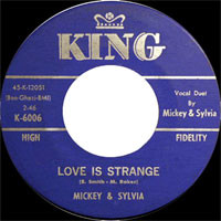Mickey Baker King 45-d