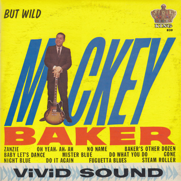 Mickey Baker King LP