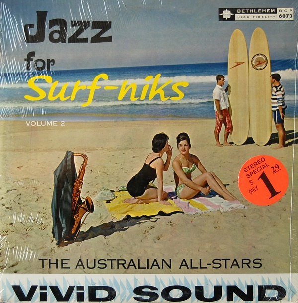 +Australian All-Stars = Beach-Nik Jazz LP