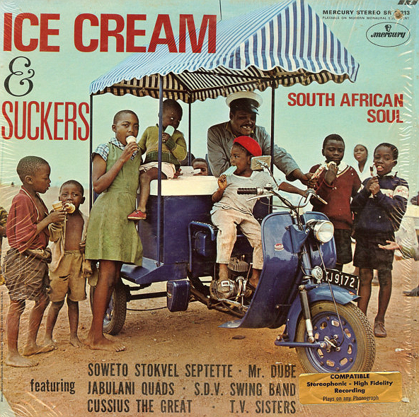 Ice Cream & Suckers - Various Artists Mercury LP-a