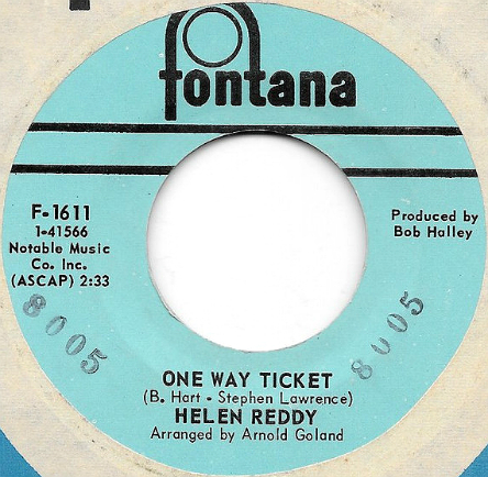Helen Reddy US 45