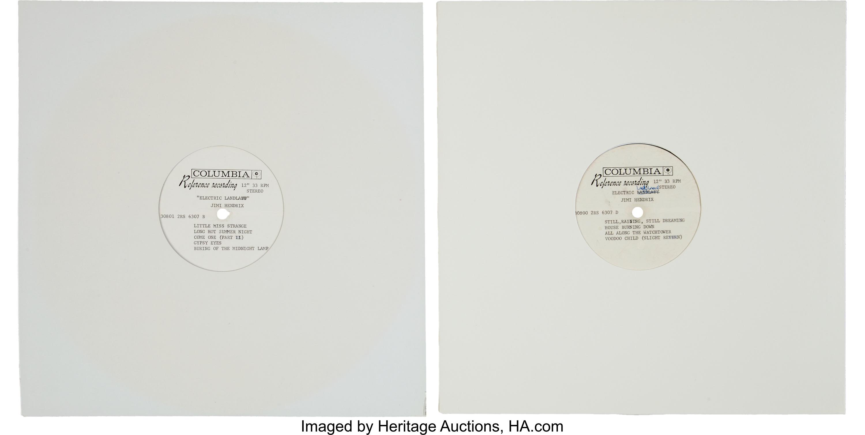 Jimi Hendrix - Electric Landlady acetates
