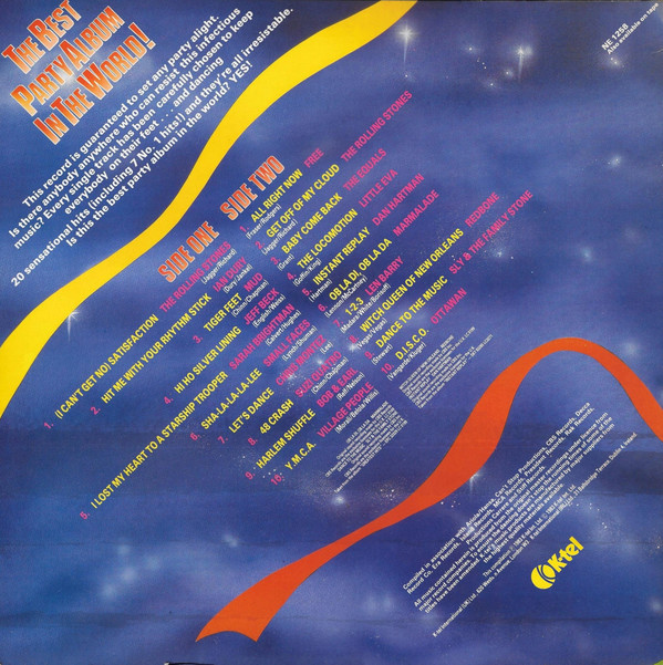 K-Tel's Best Party Album-cover