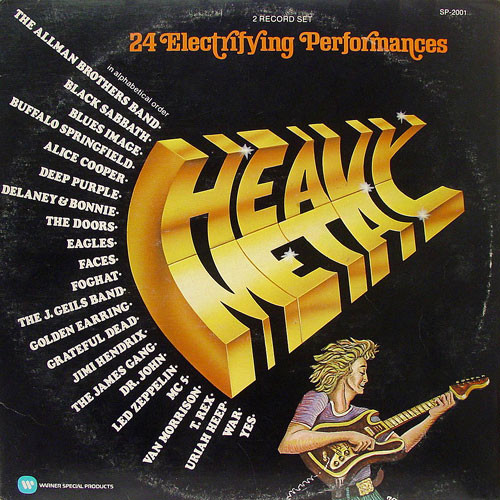 K-Tel's Heavy Metal
