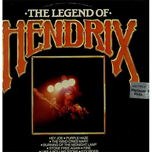 K-Tel's Legend of Hendrix