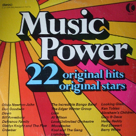 K-Tel's Music Power - Canada