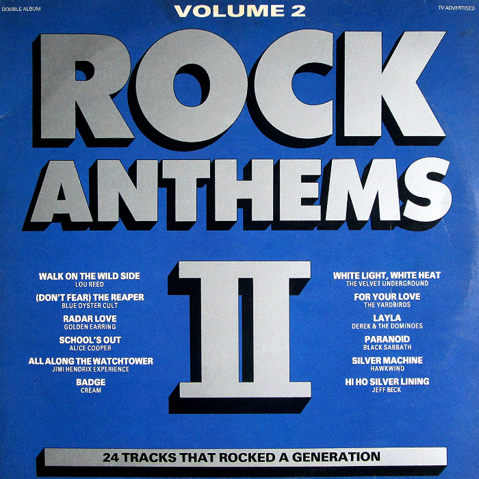 K-Tel's Rock Anthems 2