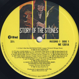 K-Tel's Story of the Stones-a