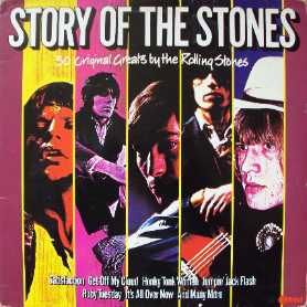 K-Tel's Story of the Stones-front cover