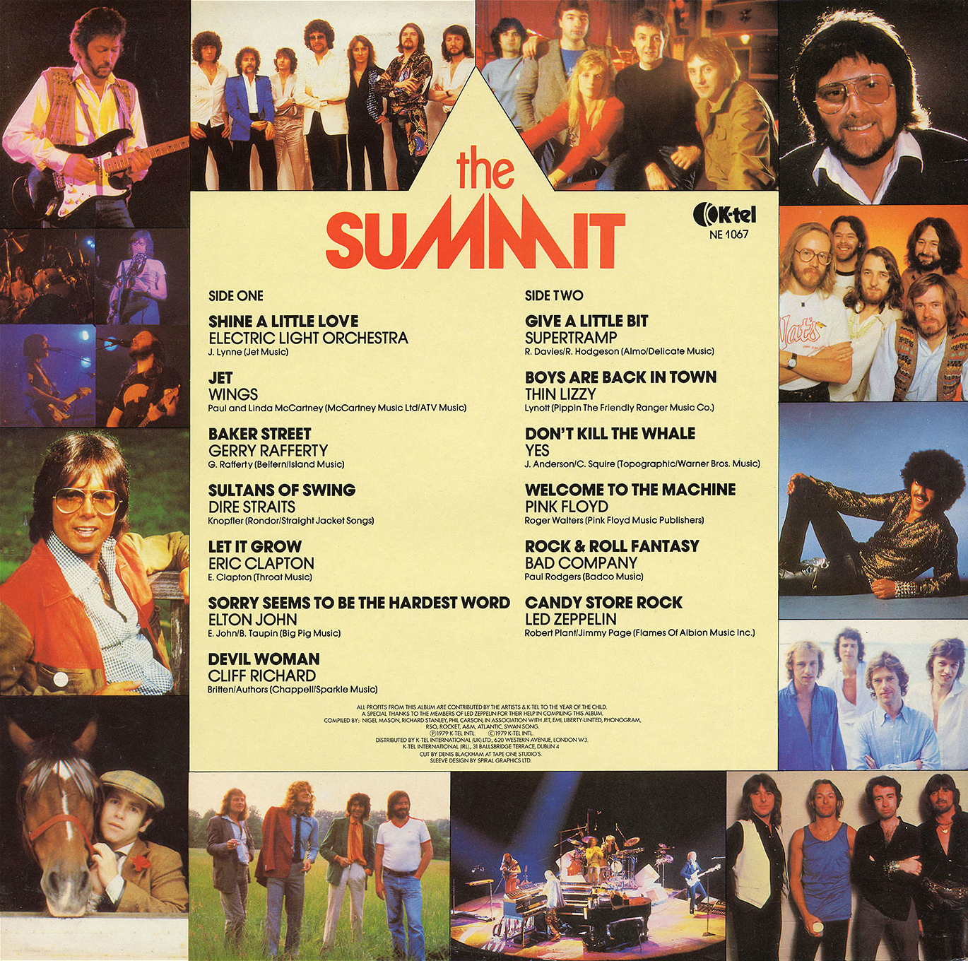 K-Tel's The Summit-rear-a