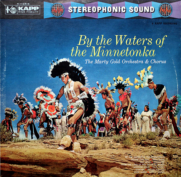 Minnetonka cover - Marty Gold Orchestra LP