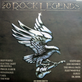 Ronco's 20 Rock Legends LP