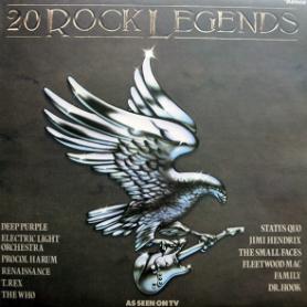 Ronco's 20 Rock Legends LP