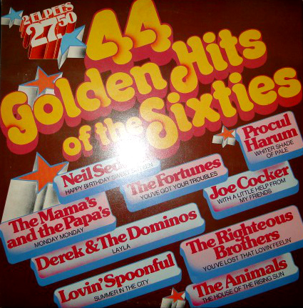 Ronco's 44 Golden Hits of the Sixties LP
