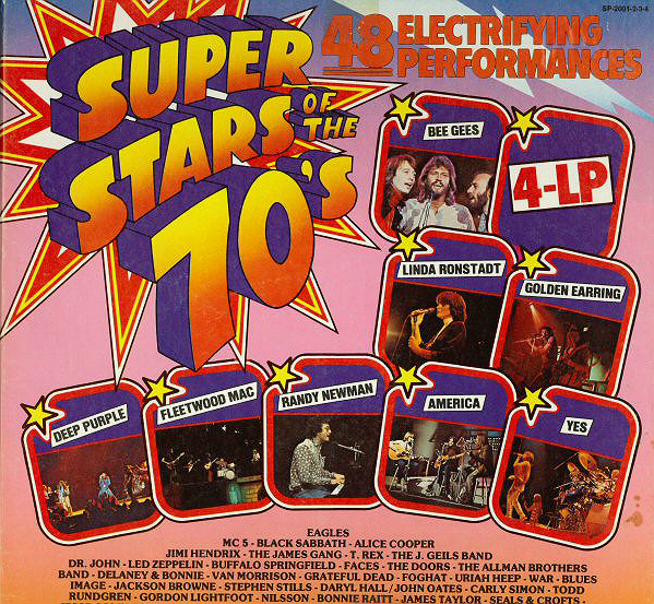 Superstars of the 70s - alternate version