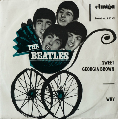 Beatles 45 - East Germany-a