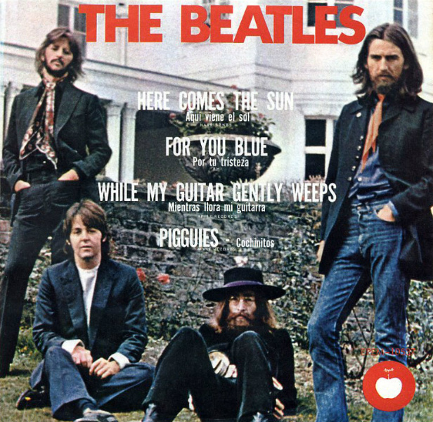 Beatles EP - Mexico-cc