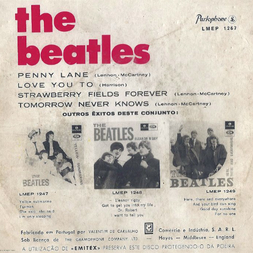 Beatles EP - Portugal-aa