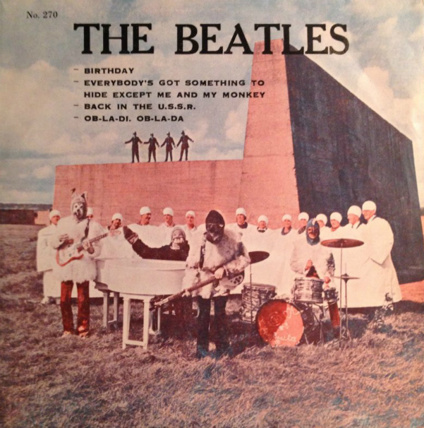 Beatles EP - Thailand-cc