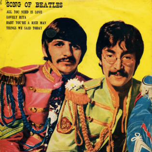 Beatles EP - Thailand-dd