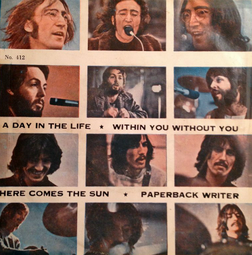 Beatles EP - Thailand-fff