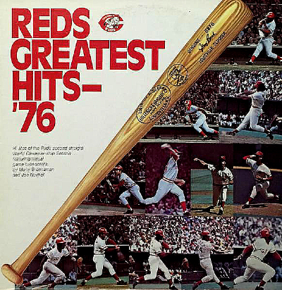 This image has an empty alt attribute; its file name is Cincinnati-Reds-Greatest-Hits-76-LP.jpg