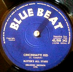 This image has an empty alt attribute; its file name is Prince-Buster-Cincinnatti-Kid-Blue-Beat-45-UK.jpg