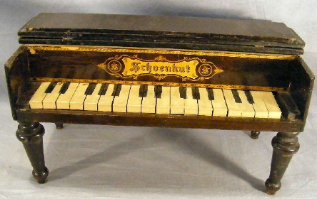 the toy piano